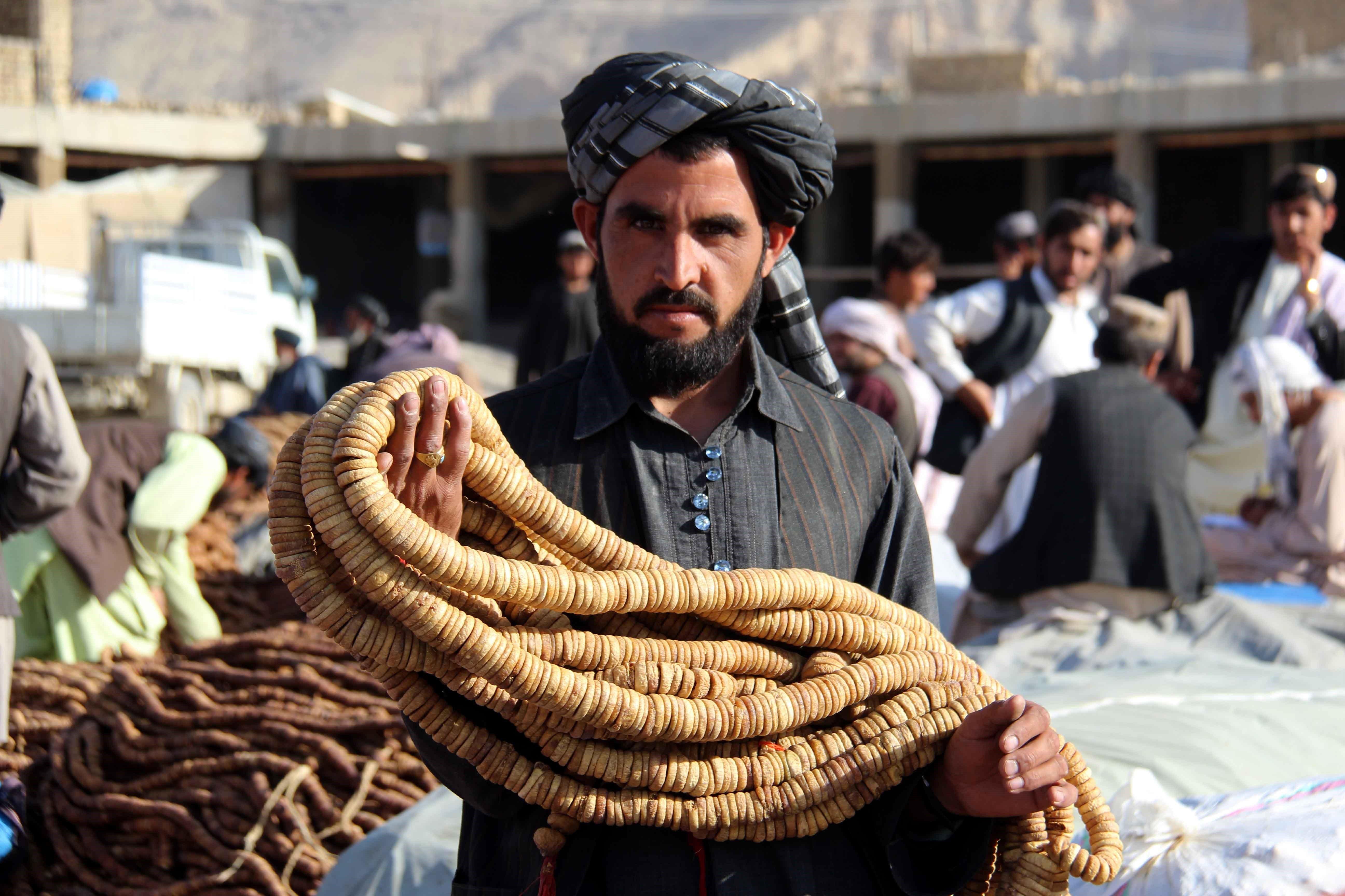Afganistan va exportar més de 13.000 tones de fruita i fruita seca a l'Índia, Dubai i Kazakhstan durant els darrers 10 mesos. /MUHAMMAD SADIQ