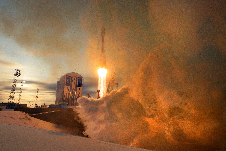 Rússia llança amb èxit un coet des de Vostochni, Tsiolkovsky (Rússia). /MAXIM SHIPENKOV