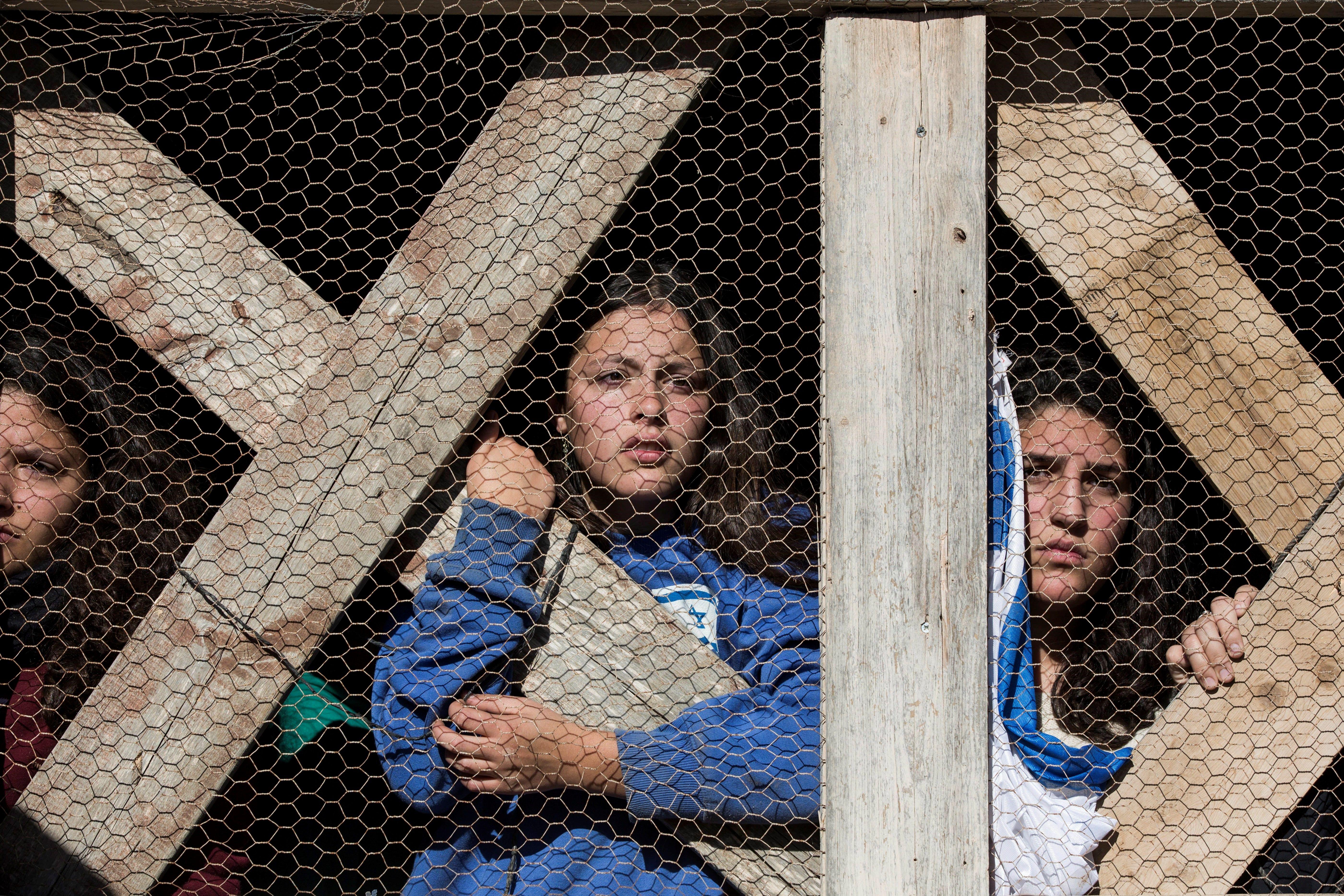 Evacuació de l'assentament jueu d'Elazar. /ABIR SULTAN