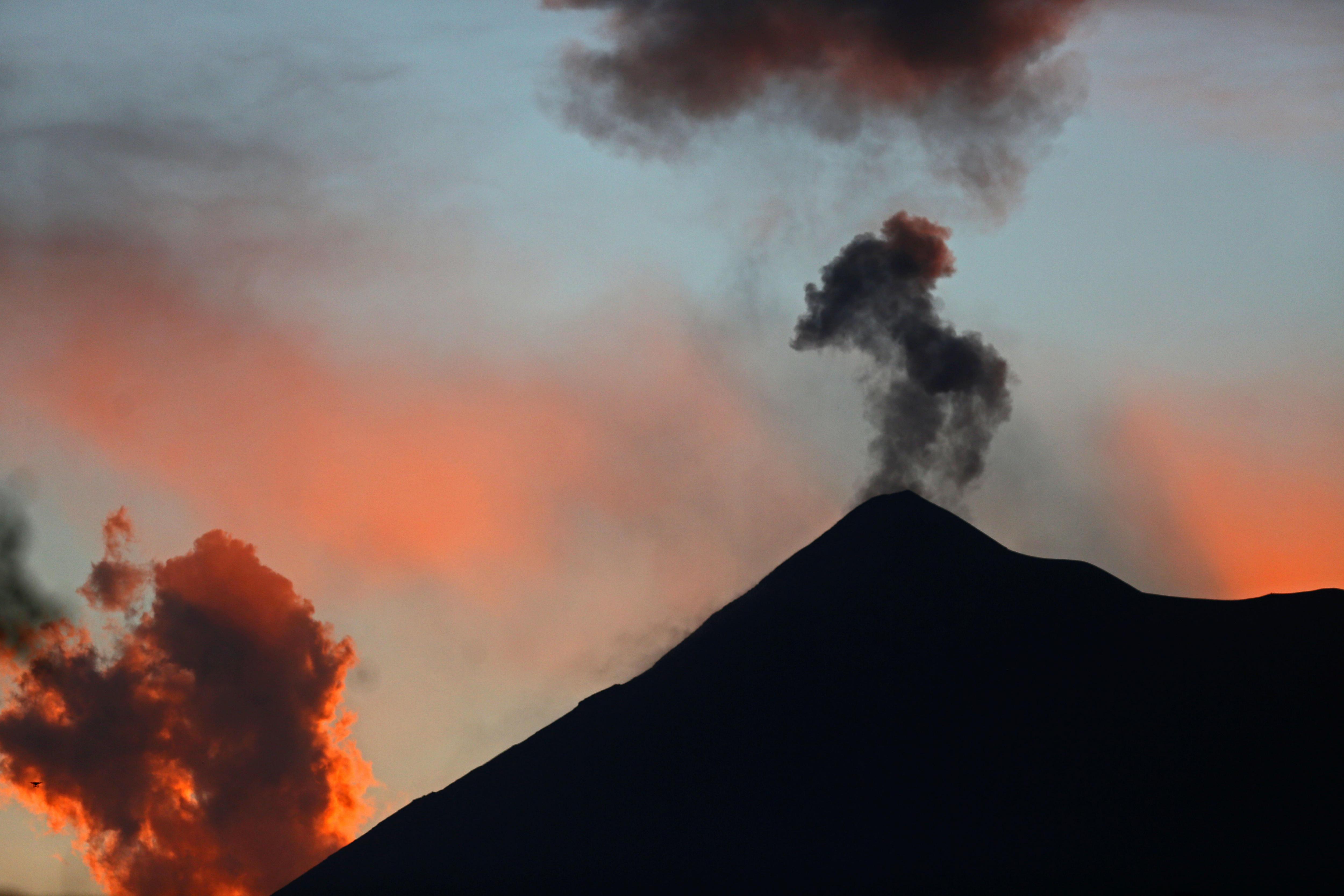 Erupció del Volcà de Foc a Guatemala. /ESTEBAN BIBA