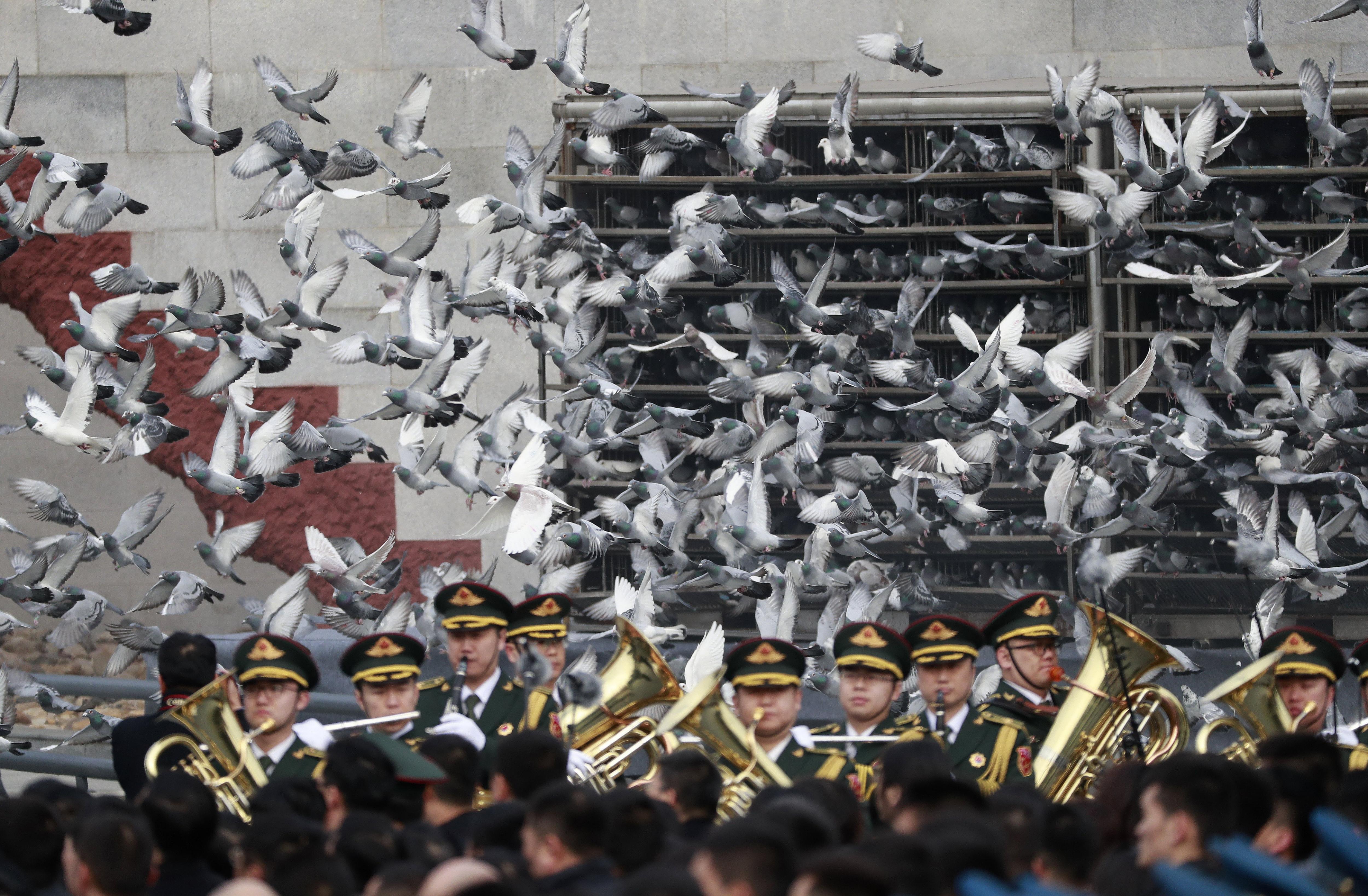 Xina commemora el 80 aniversari de la massacre de Nanjing el 1937 per les tropes japoneses. /HOW HWEE YOUNG