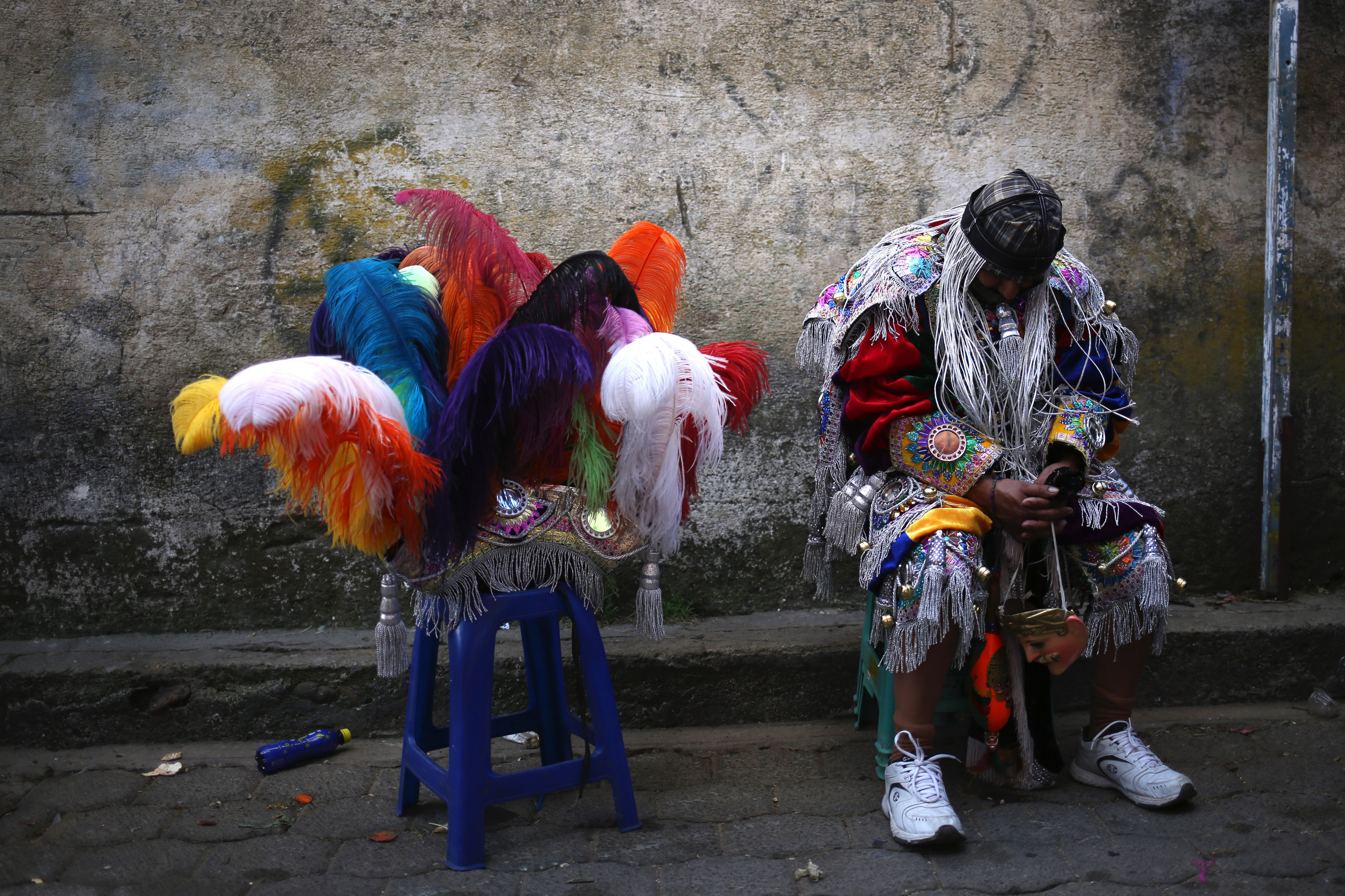 Festivitats de la fira patronal en honor a Sant Tomàs, en el municipi de Chichicastenango, Quiché (Guatemala). /ESTEBAN BIBA