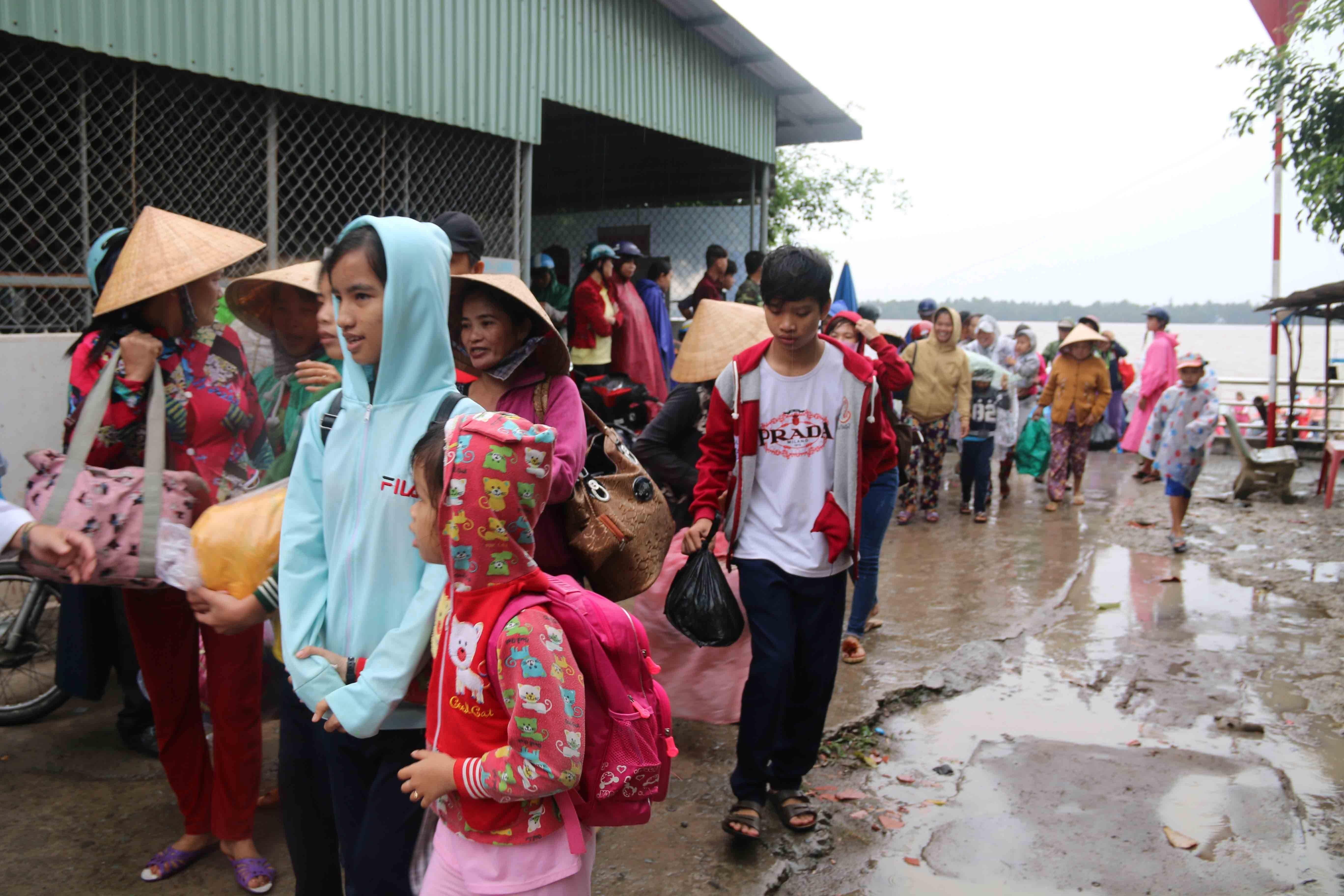 650 mil persones evacuades al sud de Vietnam