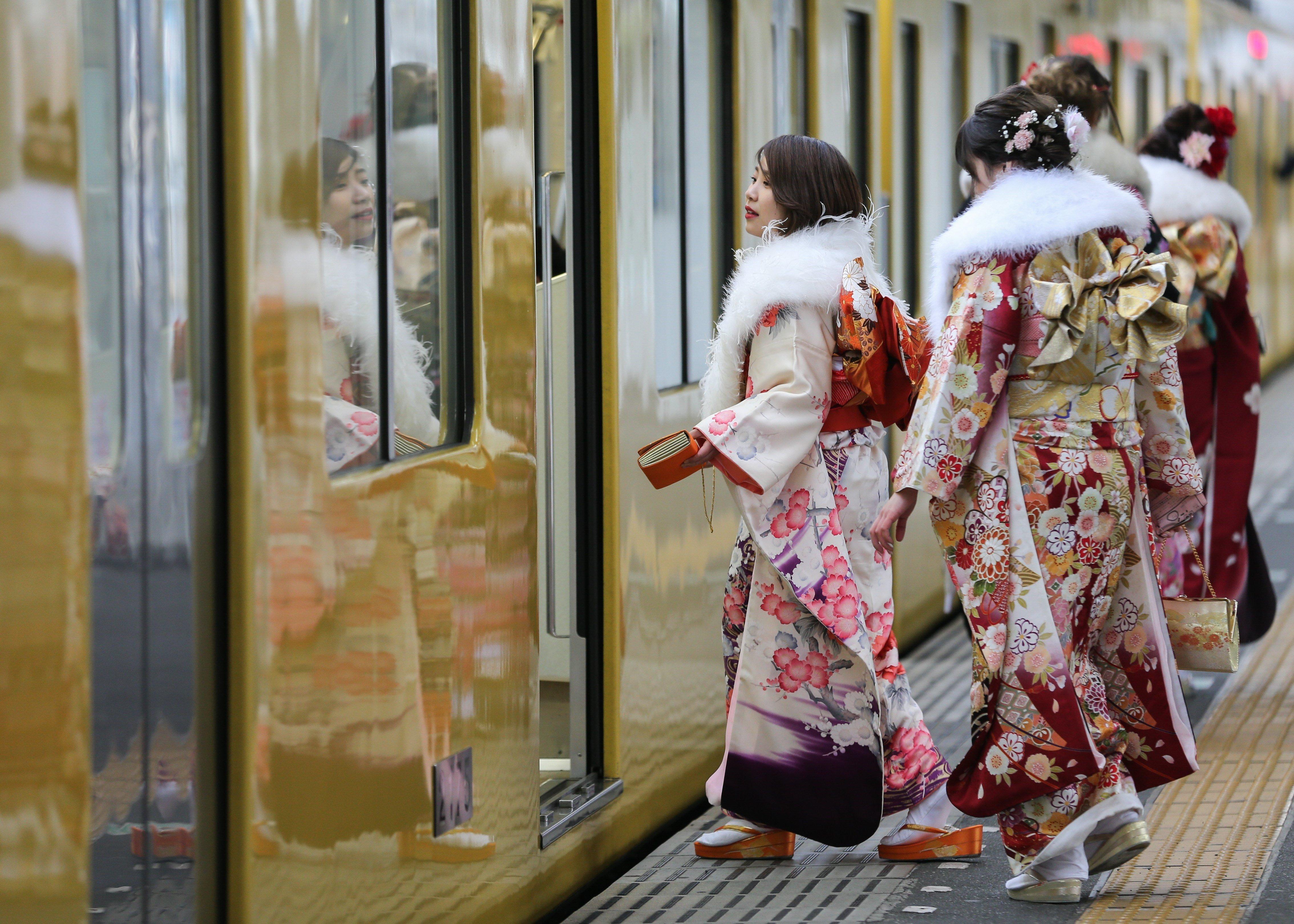 Cada 8 de gener, els joves que compleixen 20 anys celebren la seva majoria d'edat al Japó. /CHRISTOPHER JOE