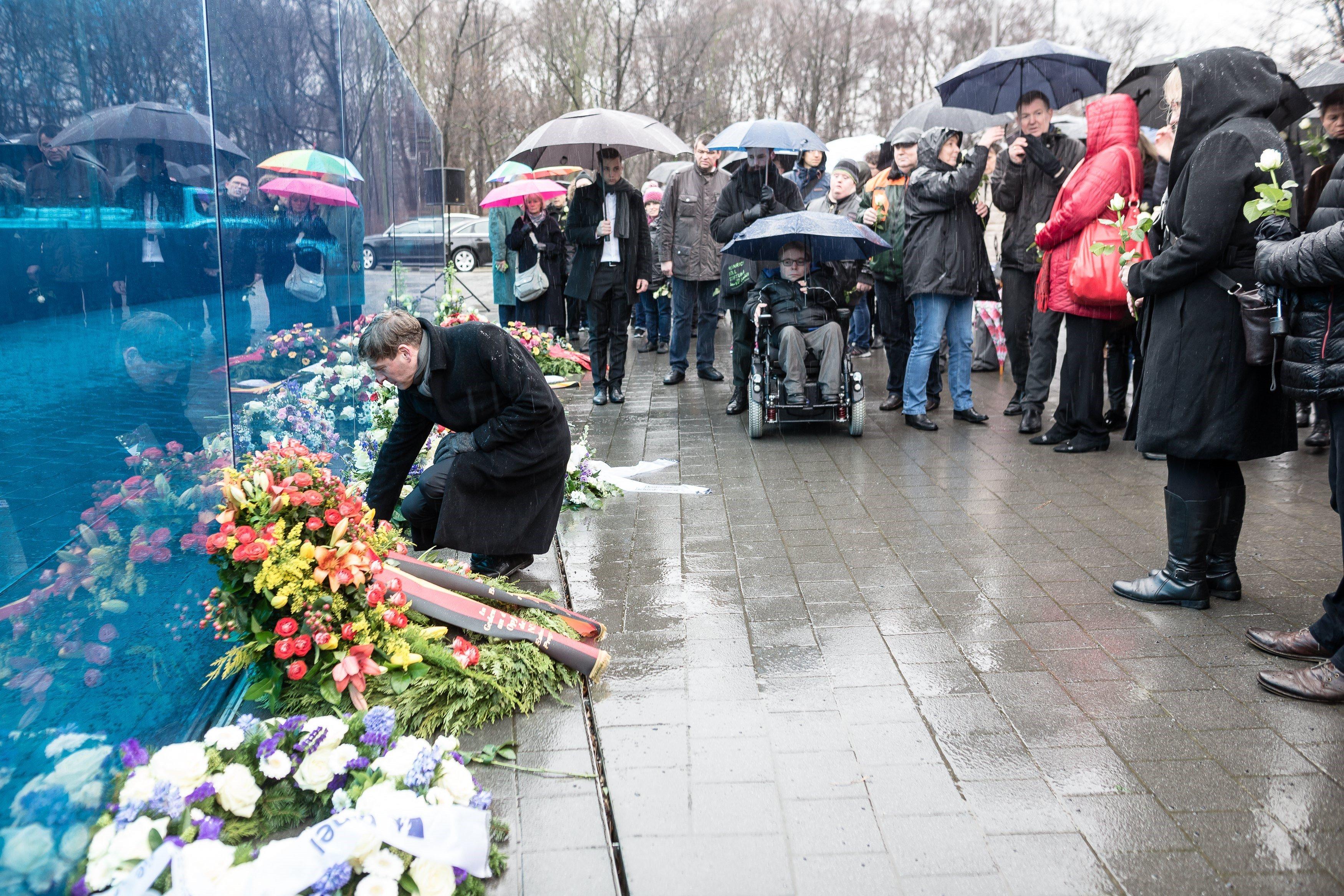 Jornada de commemoració de les víctimes de l'Holocaust, a Berlín, Alemanya. /TILL RIMMELE