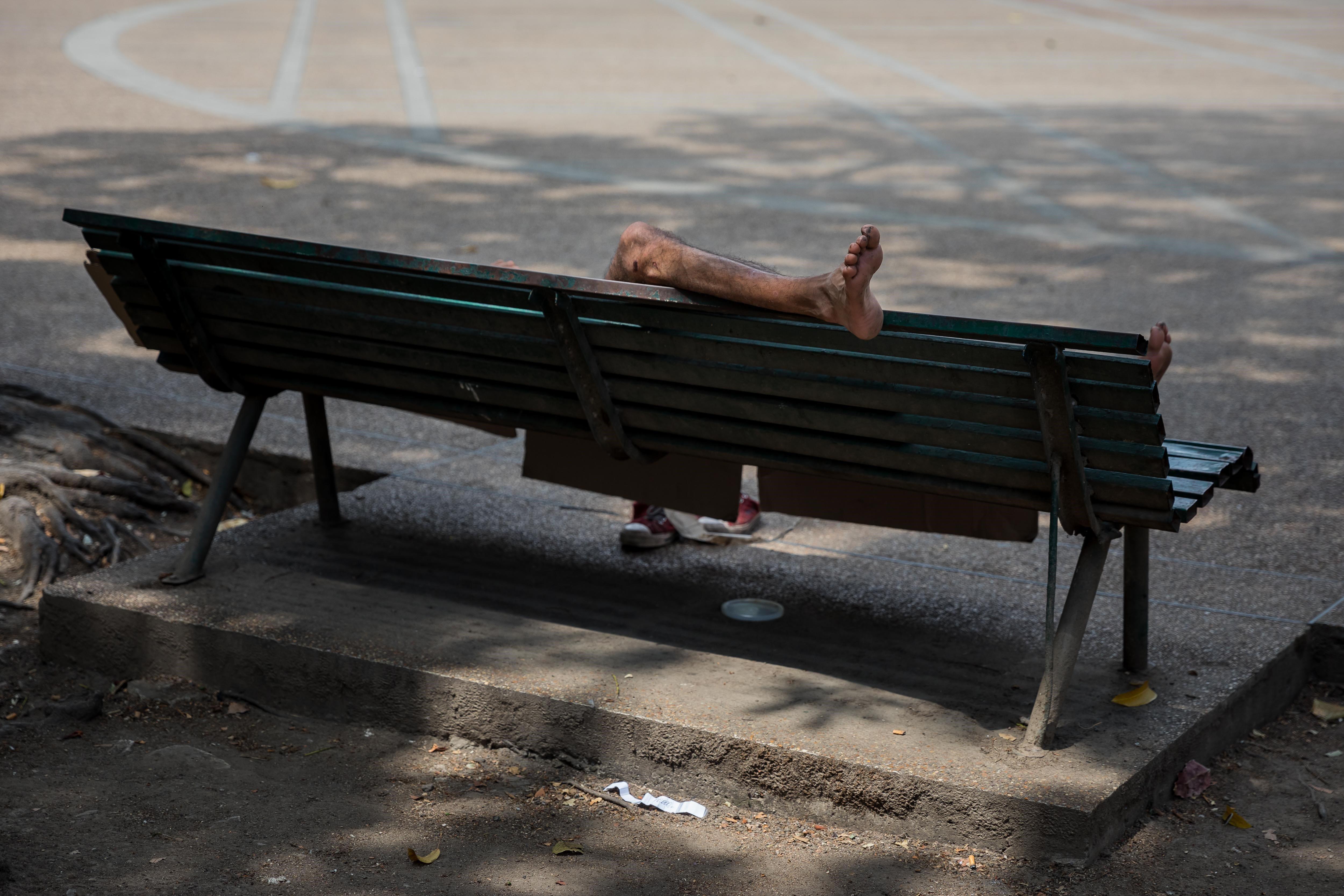 Nins desemparats queden a Veneçuela després de sortida del país dels seus pares. /MIGUEL GUTIÉRREZ