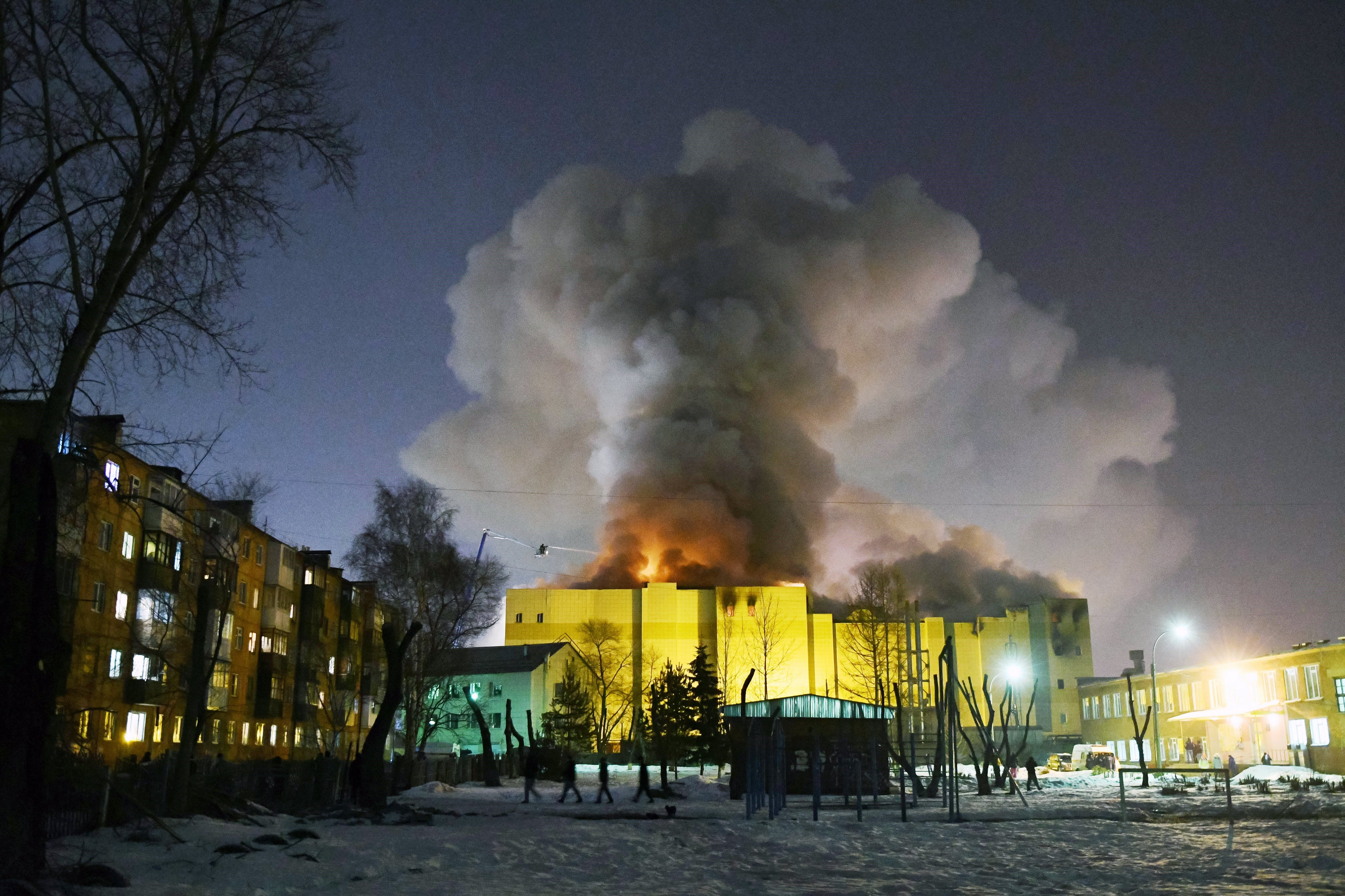 53 morts en un incendi a un centre comercial de Sibèria. /ALEXANDER PATRIN/A42.RU