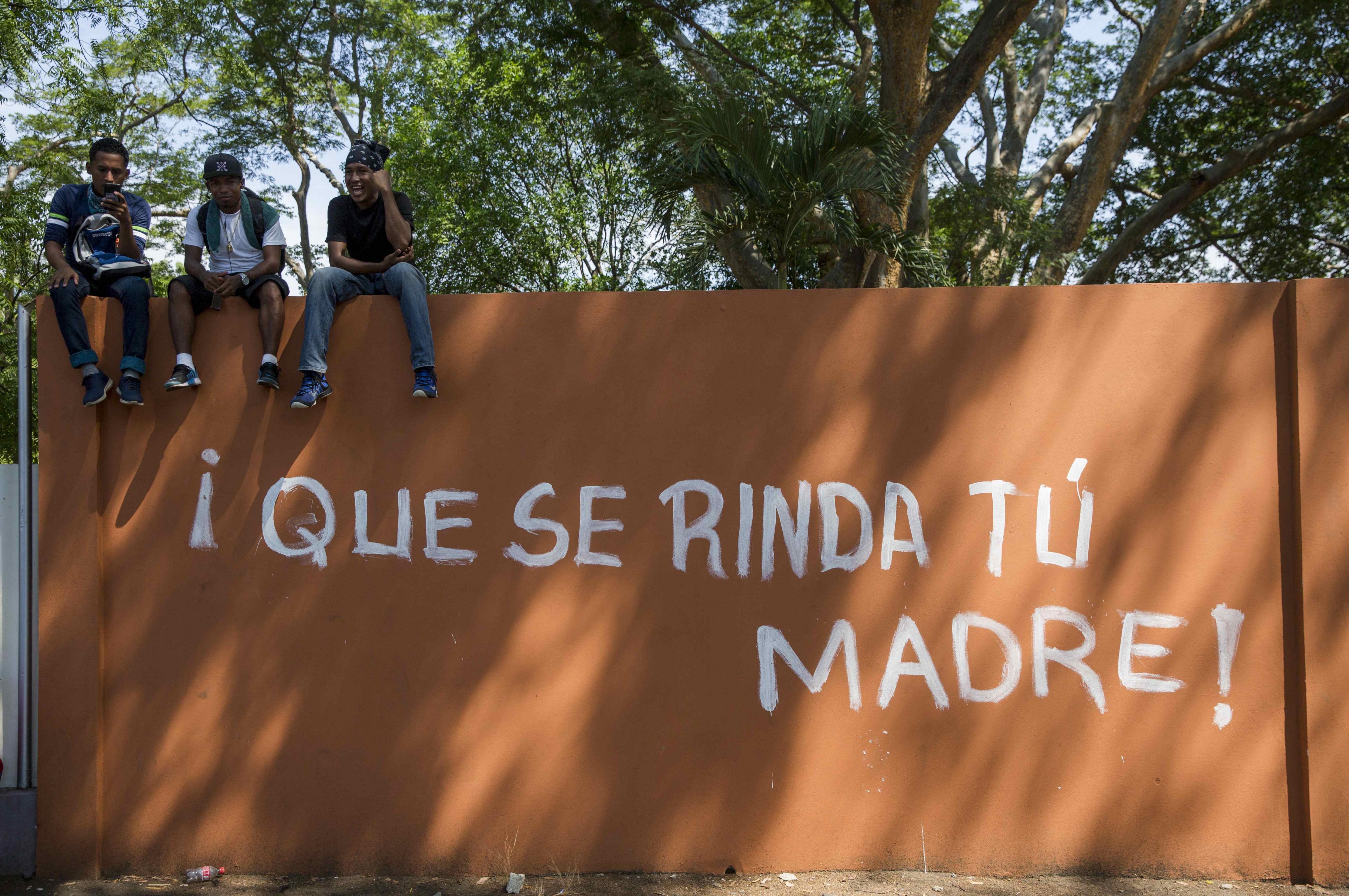 Estudiants d'universitat de Nicaragua demanen cessament a la repressió i justícia. /JORGE TORRES