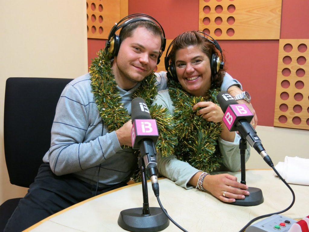 El periodista Joan Guillem Jaume i la sexòloga Maria Rigo