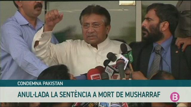 Anul%C2%B7lada+la+sent%C3%A8ncia+a+mort+de+l%27exdictador+militar+Musharraf