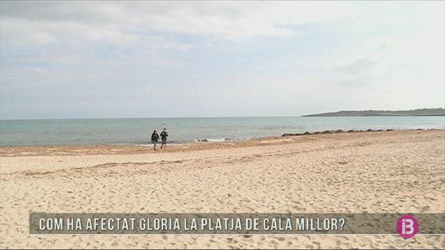 El+SOCIB+estudia+les+conseq%C3%BC%C3%A8ncies+de+Gloria+a+la+platja+de+Cala+Millor