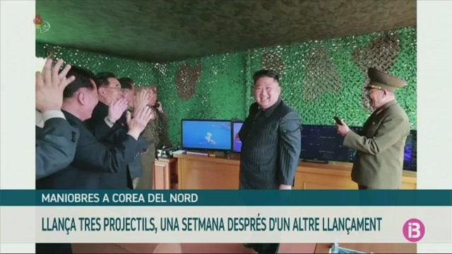 Corea+del+Nord+llan%C3%A7a+tres+projectils+no+identificats+cap+a+la+mar+del+Jap%C3%B3
