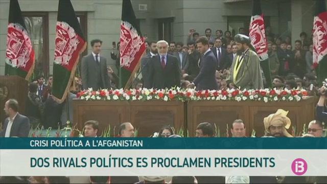 Dos+rivals+pol%C3%ADtics+es+proclamen+presidents+a+l%27Afganistan