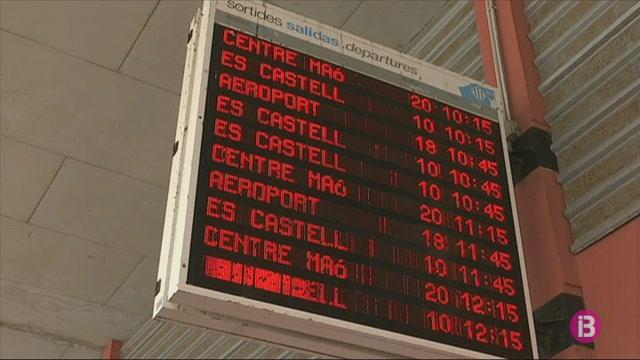 Els+autobusos+p%C3%BAblics+de+Menorca+operen+en+serveis+m%C3%ADnims+i+el+passatge+davalla+un+80%25