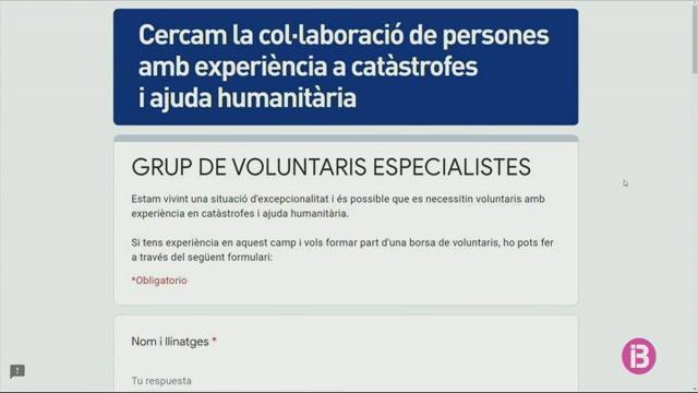L%27112+cerca+voluntaris+amb+experi%C3%A8ncia+en+cat%C3%A0strofes+i+causes+humanit%C3%A0ries