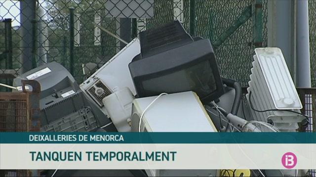 Tanquen+temporalment+cinc+de+les+set+deixalleries+de+Menorca