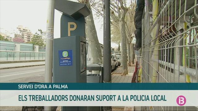 Els+treballadors+de+l%27ORA+de+Palma+donaran+suport+a+la+Policia+Local