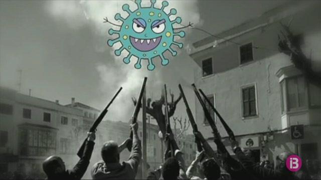 Ciutadella+penja+bujots+de+Pasqua+contra+el+coronavirus