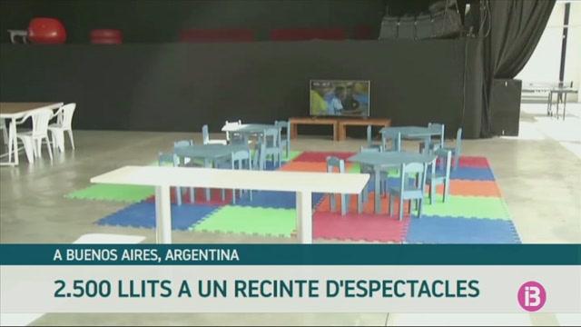 Un+espai+de+concerts+i+activitats+esportives+per+a+milers+de+malalts+amb+COVID-19+a+Buenos+Aires