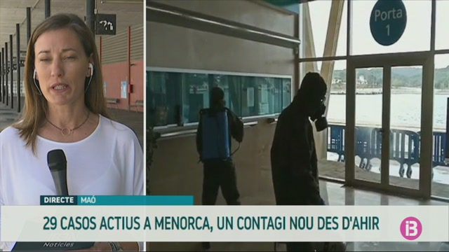 Menorca+nom%C3%A9s+t%C3%A9+un+professional+sanitari+infectat