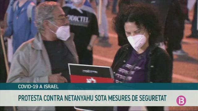Manifestaci%C3%B3+contra+Netanyahu+sota+les+mesures+contra+la+pand%C3%A8mia
