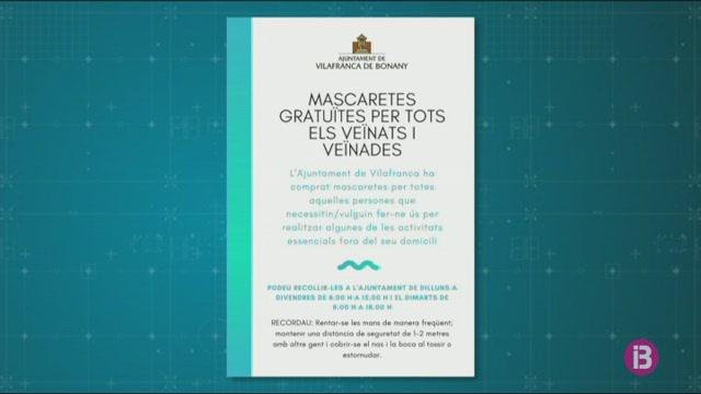 Vilafranca+de+Bonany+regalar%C3%A0+3.000+mascaretes+als+ve%C3%AFnats