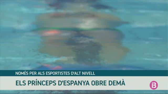 La+piscina+del+Pr%C3%ADnceps+d%27Espanya+ser%C3%A0+l%27%C3%BAnica+oberta+a+les+Illes+Balears