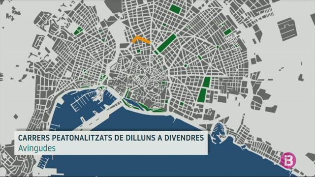 Palma+transforma+en+zona+per+a+vianants+13+quil%C3%B2metres+de+carrers