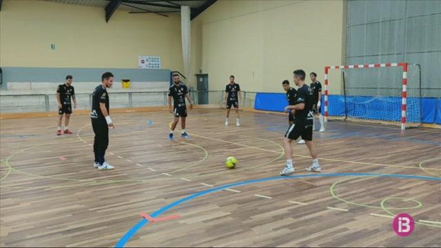 El+Palma+Futsal+torna+a+entrenar+en+grup