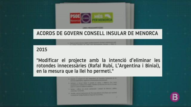 La+soluci%C3%B3+del+Consell+de+Menorca+a+la+carretera+divideix+l%27esquerra+pol%C3%ADtica+i+ecologista