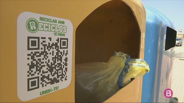 Els+residents+a+Ciutadella+seran+recompensats+per+reciclar+els+envasos+lleugers