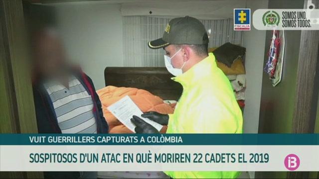 Vuit+guerrillers%2C+capturats+a+Col%C3%B2mbia+per+un+atac+mortal+a+una+escola+policial+a+Bogot%C3%A0