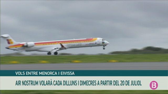 Els+vols+Menorca-Eivissa+comen%C3%A7aran+el+20+de+juliol+operats+per+Air+Nostrum