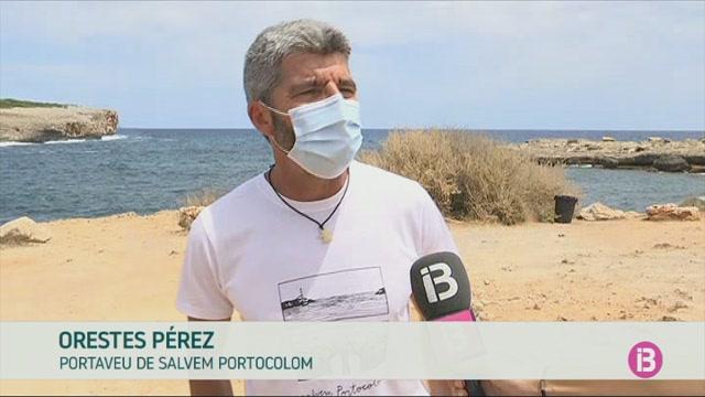 Salvem+Portocolom+denuncia+l%27erosi%C3%B3+que+provoquen+els+cotxes+a+s%27Algar