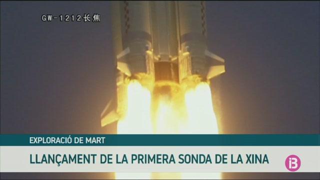 La+Xina+llan%C3%A7a+la+seva+primera+sonda+que+orbitar%C3%A0+Mart