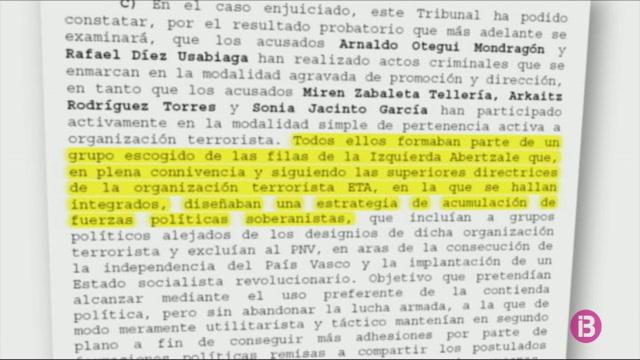 El+Tribunal+Suprem+anul%C2%B7la+la+sent%C3%A8ncia+de+pres%C3%B3+contra+Arnaldo+Otegui