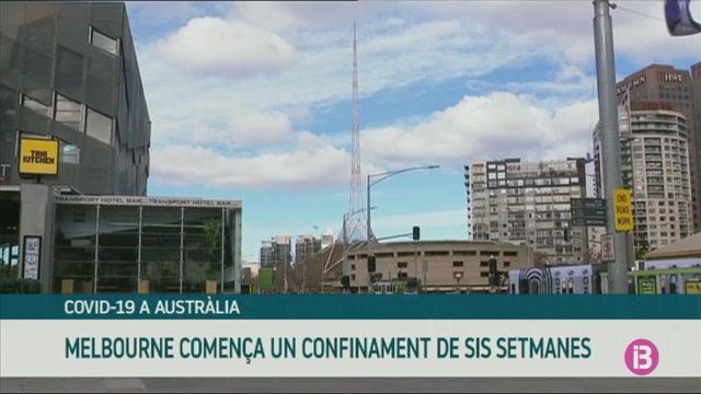 Melbourne+comen%C3%A7a+un+confinament+de+sis+setmanes