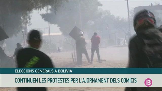 Protestes+a+Bol%C3%ADvia+per+l%27ajornament+de+les+eleccions