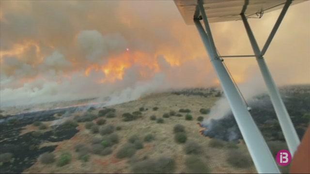 Un+incendi+arrasa+el+Parc+Nacional+de+Tsavo+Oest+de+Kenya