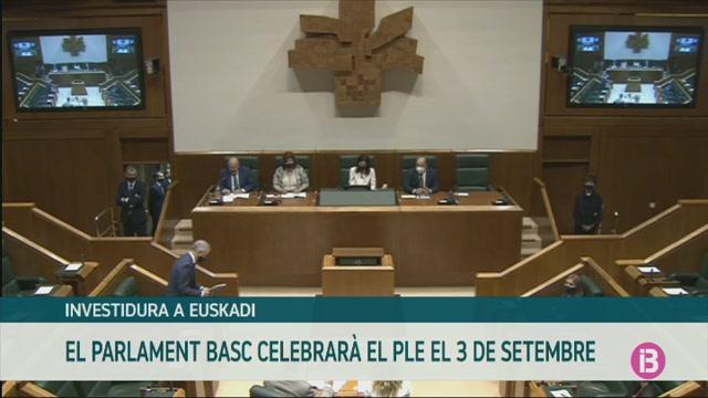 El+Parlament+Basc+celebrar%C3%A0+el+ple+d%27investidura+el+pr%C3%B2xim+3+de+setembre