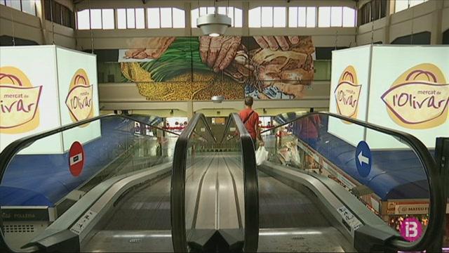 Un+mural+enorme+decora+l%27interior+del+mercat+de+l%27Olivar