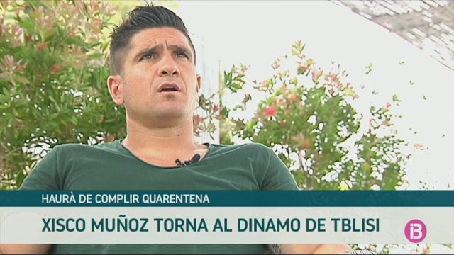 Xisco+Mu%C3%B1oz+torna+al+Dinamo+de+Tblisi