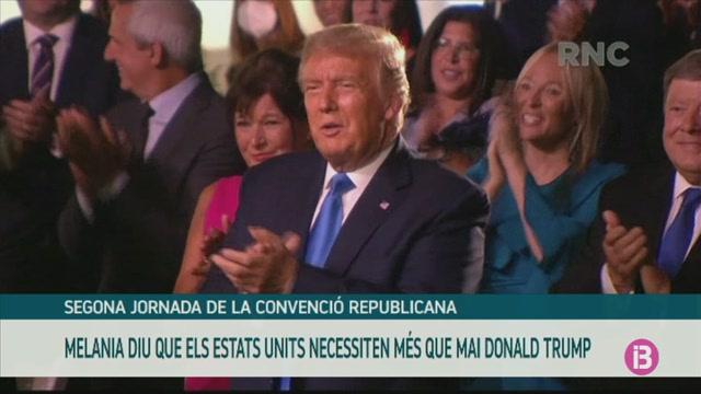 Melania+Trump+tanca+la+segona+jornada+de+la+Convenci%C3%B3+Republicana