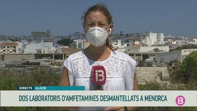 Desmantellats+dos+laboratoris+de+drogues+sint%C3%A8tiques+a+Alaior+i+Ciutadella