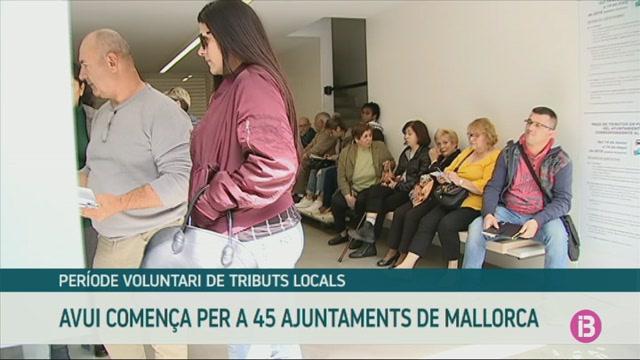 Comen%C3%A7a+el+periode+voluntari+de+tributs+a+45+municipis+de+Mallorca
