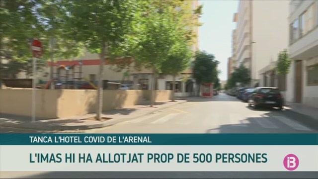 L%27IMAS+tanca+l%27hotel+Covid+de+l%27Arenal+de+Llucmajor