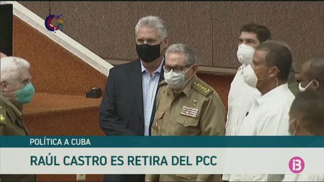 Ra%C3%BAl+Castro+es+retira+del+Partit+Comunista+de+Cuba