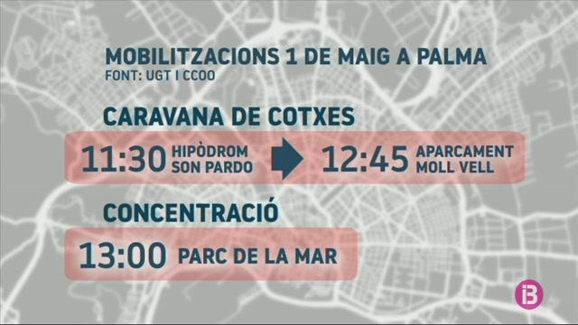 Enguany+hi+haur%C3%A0+caravana+de+cotxes+a+Palma+per+celebrar+l%271+de+maig