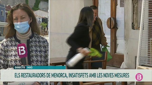 Els+restauradors+de+Menorca+rebutgen+l%27obligaci%C3%B3+de+tancar+dues+hores+els+capvespres
