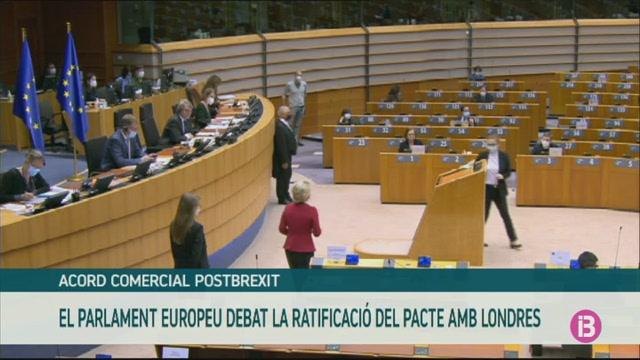 El+Parlament+Europeu+debat+la+ratificaci%C3%B3+de+l%27acord+amb+el+Regne+Unit